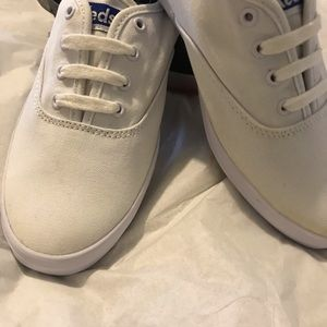 Keds White Sneakers Size 8